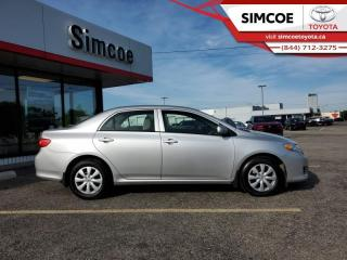 Used 2009 Toyota Corolla CE  - Low Mileage for sale in Simcoe, ON