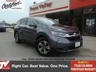 Used 2019 Honda CR-V LX AWD for sale in Peterborough, ON