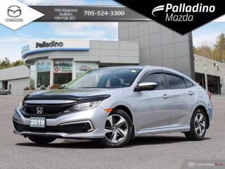 Used 2019 Honda Civic Sedan LX - NO ACCIDENTS - APPLE CARPLAY/ANDROID AUTO for sale in Sudbury, ON