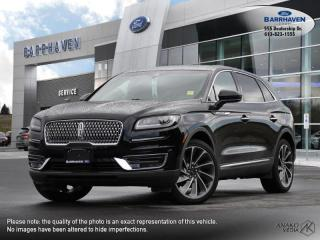 Used 2019 Lincoln Nautilus RESERVE for sale in Ottawa, ON