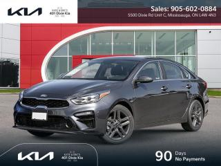 New 2021 Kia Forte EX+ 90 DAYS NO PAYMENTS for sale in Mississauga, ON