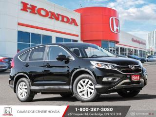Used 2016 Honda CR-V EX PUSH BUTTON START | POWER SUNROOF | BLUETOOTH for sale in Cambridge, ON