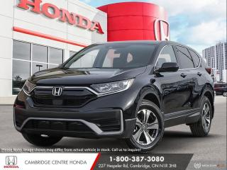 New 2021 Honda CR-V LX IDLE STOP | HONDA SENSING TECHNOLOGIES | APPLE CARPLAY™ & ANDROID AUTO™ for sale in Cambridge, ON