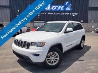 Used 2018 Jeep Grand Cherokee Laredo 4x4 - Sunroof, Heated Seats + Steering, Power Liftgate, Remote Start, Reverse Camera and More for sale in Guelph, ON