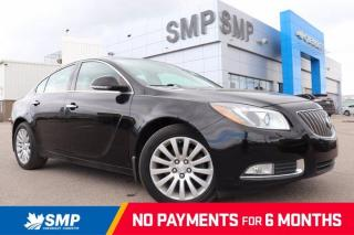 Used 2013 Buick Regal Turbo - Remote Start, Leather, Sunroof for sale in Saskatoon, SK