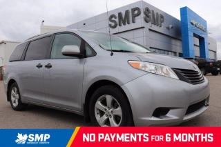 Used 2012 Toyota Sienna CE - Rear A/C, 7 Passenger, Alloy Wheels for sale in Saskatoon, SK