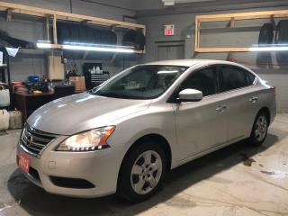 Used 2013 Nissan Sentra * Cruise Control * Steering Wheel Controls * Hands Free Calling * Sport Mode * Eco Mode * AM/FM/CD/Aux * Keyless Entry * Power Locks * Power Windows * for sale in Cambridge, ON
