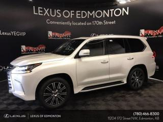 New 2021 Lexus LX 570 EXECUTIVE PACKAGE for sale in Edmonton, AB