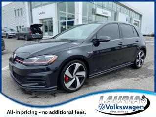 Used 2018 Volkswagen Golf GTI Autobahn Manual - LOADED! for sale in PORT HOPE, ON
