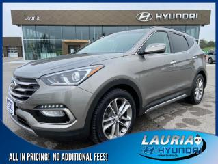 Used 2017 Hyundai Santa Fe Sport 2.0T AWD Ultimate - LOADED for sale in Port Hope, ON