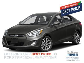 Used 2017 Hyundai Accent SE for sale in Sudbury, ON