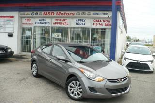 Used 2013 Hyundai Elantra GL for sale in Toronto, ON