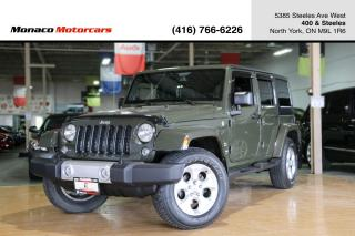 Used 2015 Jeep Wrangler SAHARA 4WD - LEATHER|REMOTE START|NAVIGATION for sale in North York, ON