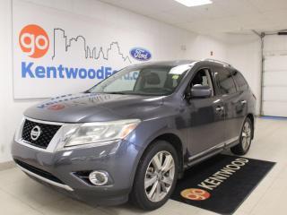 Used 2014 Nissan Pathfinder Platinum | 4WD | Third Row | Leather | Nav | for sale in Edmonton, AB