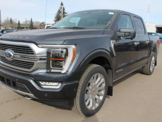 New 2021 Ford F-150 Limited | 4x4 | Hybrid | Interior Work Surface | MAX Recline | Moonroof for sale in Edmonton, AB
