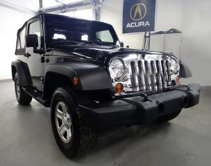 Used 2010 Jeep Wrangler 4X4.NO ACCIDENT,2 DOOR ,MANUAL for sale in North York, ON