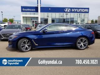 Used 2017 Infiniti Q60 2.0t/AWD/NAV/SUNROOF/LEATHER for sale in Edmonton, AB