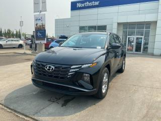 New 2022 Hyundai Tucson ESSENTIAL/SAFTEYPACK/BACKUPCAMERA/HEATED SEATS/BLUETOOTH/AC for sale in Edmonton, AB
