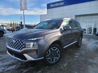 New 2021 Hyundai Santa Fe Hybrid PREF TREND AWD/HYBRID/LEATHER/APPLEPLAY/BACKUPCAM/HEATEDSEATS for sale in Edmonton, AB