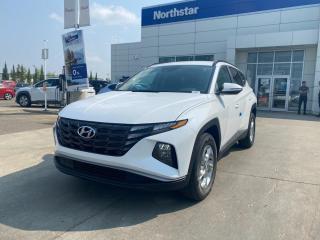 New 2022 Hyundai Tucson ESSENTIALAWD/SAFTEYPACK/BACKUPCAMERA/HEATED SEATS/BLUETOOTH/AC for sale in Edmonton, AB