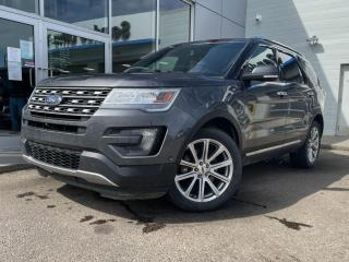 Used 2016 Ford Explorer LIMITED - LEATHER, NAV, HEATED AND COOLED SEATS, AND MORE for sale in Edmonton, AB