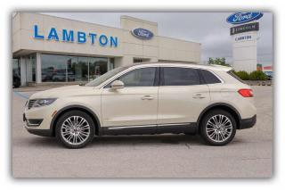 Used 2016 Lincoln MKX Reserve for sale in Sarnia, ON