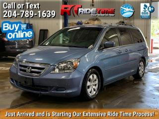 Used 2005 Honda Odyssey EX for sale in Winnipeg, MB