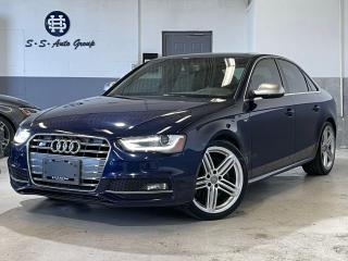 Used 2013 Audi S4 SPORT DIFF|NAV|BACK UP|BSM|CARBON FIBRE|WHITE INT| for sale in Oakville, ON