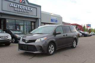 Used 2020 Toyota Sienna CE for sale in Calgary, AB