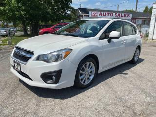 Used 2014 Subaru Impreza 1 Owner/Accident Free/AWD/Comes Certified for sale in Scarborough, ON