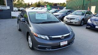 Used 2012 Honda Civic EX **MANUAL / SUNROOF / POWER OPTIONS*** for sale in Burlington, ON