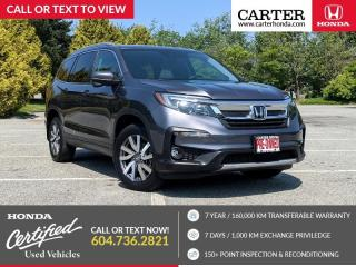 Used 2019 Honda Pilot EX-L Navi POWER LIFTGATE + NAVIGATION + LEATHER! for sale in Vancouver, BC