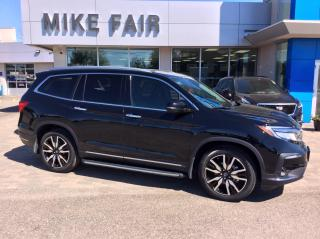 Used 2019 Honda Pilot Touring Lane Departure Warning, Child Proof Rear Door Locks, Auto High Beam Headlights for sale in Smiths Falls, ON