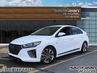 Used 2018 Hyundai Ioniq Hybrid Limited for sale in Saint-Jean-sur-Richelieu, QC