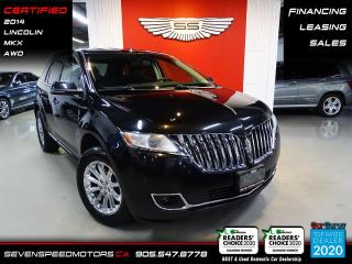 Used 2014 Lincoln MKX AWD | CLEAN CARFAX | CERTIFIED | NAVI | FINANCE for sale in Oakville, ON