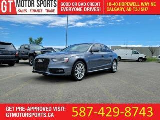 Used 2015 Audi A4 Progressiv plus | SLINE | QUATTRO | $0 - APPROVED for sale in Calgary, AB
