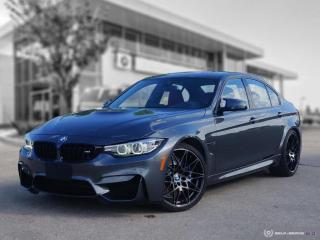 Used 2018 BMW M3 Sedan COMPETITION! Accident Free! for sale in Winnipeg, MB