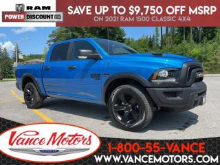New 2021 RAM 1500 Classic Warlock 4X4...V8*HTD SEATS*BACKUP CAM! for sale in Bancroft, ON