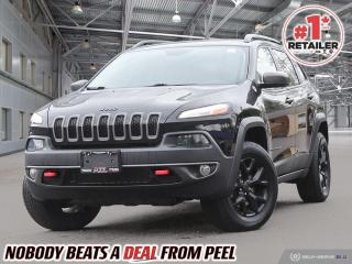 Used 2017 Jeep Cherokee Trailhawk for sale in Mississauga, ON