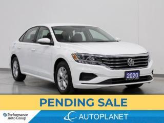 Used 2020 Volkswagen Passat Comfortline, Back Up Cam, Apple CarPlay, Alloys! for sale in Brampton, ON
