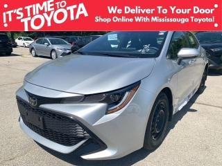 New 2021 Toyota Corolla Hatchback CVT COROLLA HATCHBACK CVT for sale in Mississauga, ON