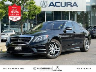 Used 2016 Mercedes-Benz S550 4MATIC (SWB) for sale in Markham, ON