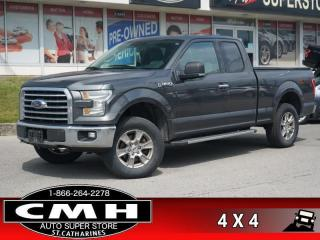 Used 2016 Ford F-150 XLT  CAM P/SEAT PWR-ADJ-PEDS TOW 18-AL for sale in St. Catharines, ON