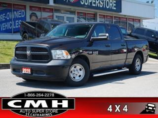 Used 2016 RAM 1500 ST  4X4 CAM BLUETOOTH TOW-PKG AIR-SUSPENSION for sale in St. Catharines, ON