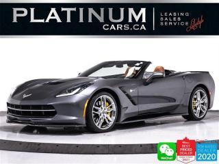 Used 2014 Chevrolet Corvette STINGRAY Z51,3LT, 460HP,AUTO,NAV,CAM,HEATED SEAT for sale in Toronto, ON