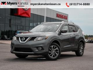Used 2015 Nissan Rogue SL  - Sunroof -  Leather Seats for sale in Kanata, ON