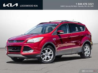 Used 2013 Ford Escape FWD 4dr SEL - ONE OWNER | CLEAN CARFAX for sale in Oakville, ON
