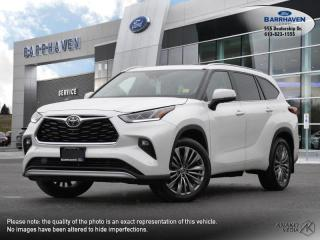 Used 2020 Toyota Highlander LIMITED  for sale in Ottawa, ON