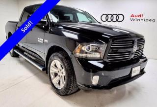Used 2014 RAM 1500 Sport w/Leather & Back-Up Camera for sale in Winnipeg, MB