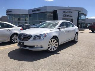 Used 2016 Buick LaCrosse Leather   Heated Front Seats   Remote Start   for sale in Winnipeg, MB
